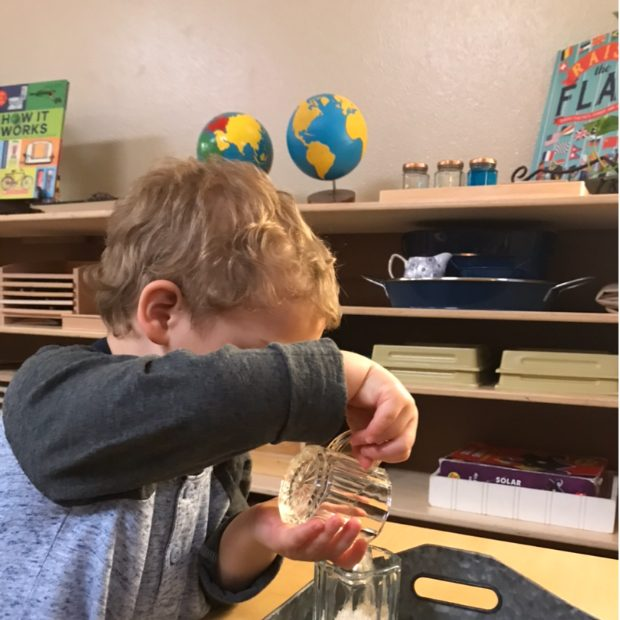 Early Childhood Dry Pouring
