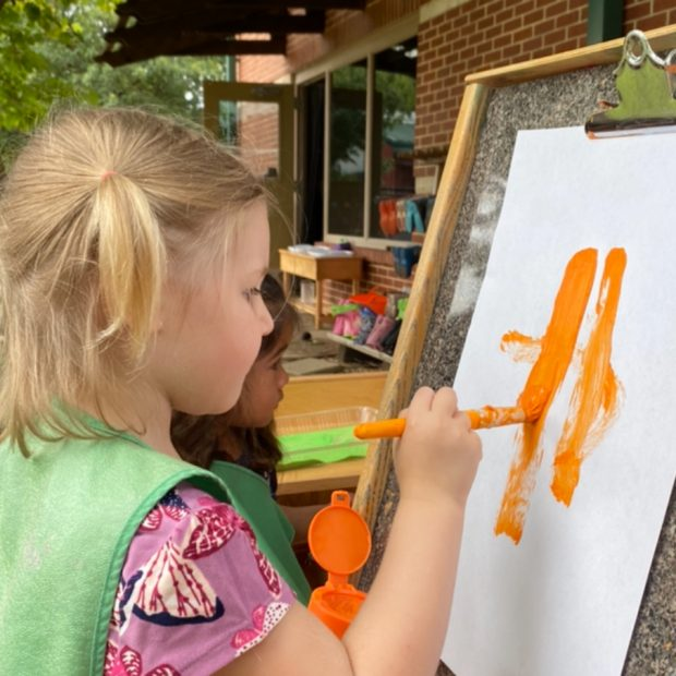 Early Childhood Painting